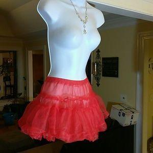 Playboy ladies red tutu skirt